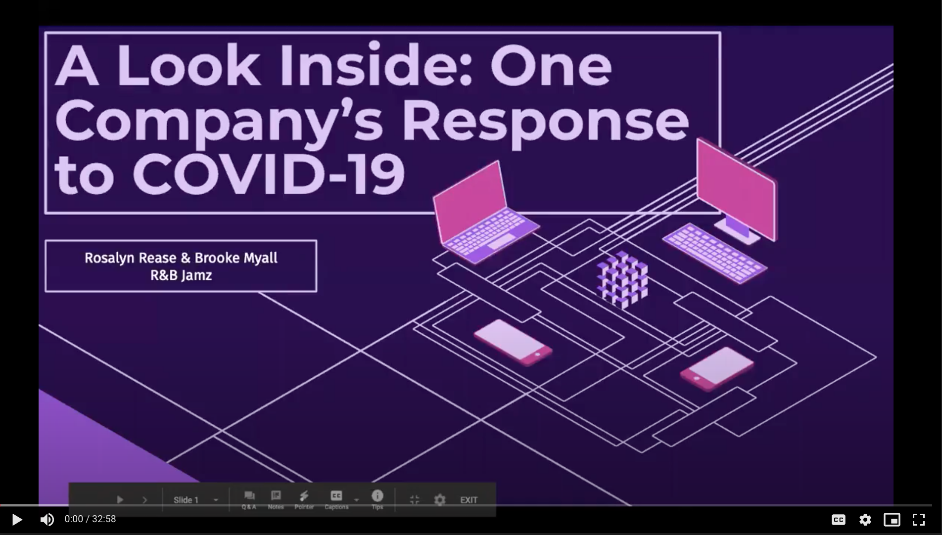 A Look Inside: One Company's Response to COVID-19