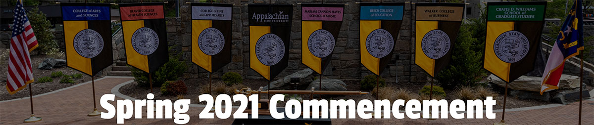 App State Commencement Site