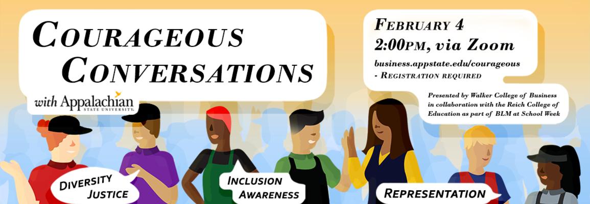 Courageous Conversations Feb. 4