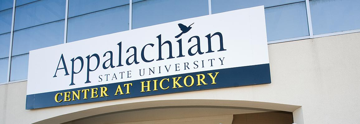 Appalachian State University Hickory Center