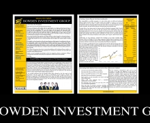 Bowden Investment Group releases January 2021 update