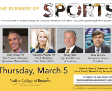 Business of Sports to bring App State alumni, sports authorities to campus