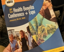 Employee benefits students attend health benefits conference and expo