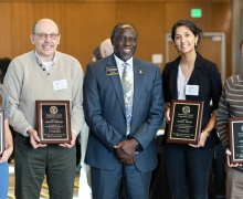Two from Walker College among those honored with App State awards for global leadership and engagement