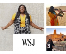 WSJ features marketing alumna who launched her company to help young people tackling debt, but who want to travel