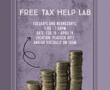 Free tax help for App State students, faculty and staff members