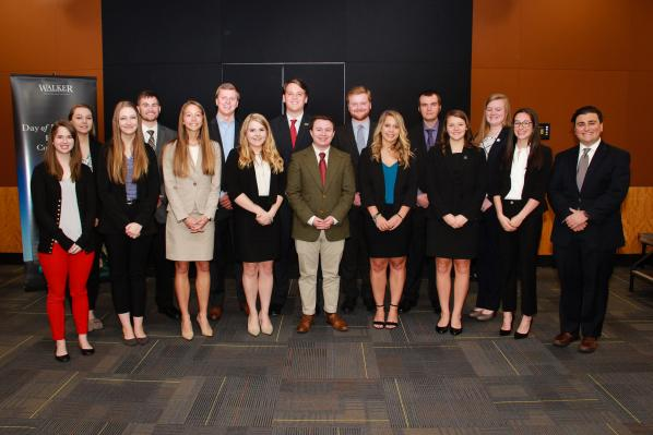 Business students honored for outstanding academic performance