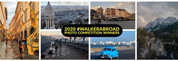 #WalkerAbroad Spring 2020 Winners