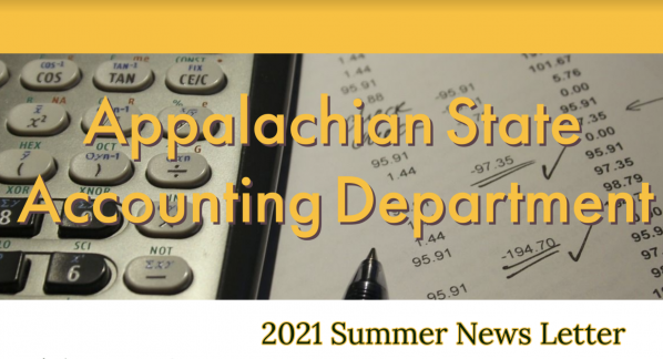 Newsletter Image - Appalachian State Accounting Department