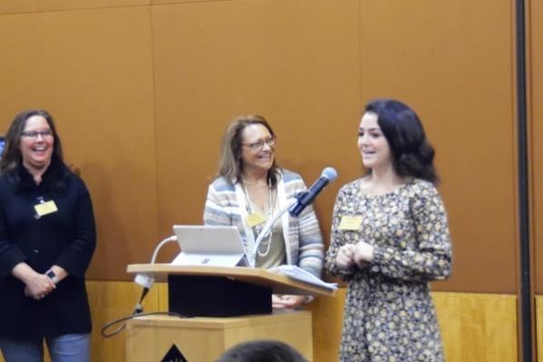 Workshop facilitators from Left to Right: Paula Henry, Angela Matherly, and Kathleen Eakes