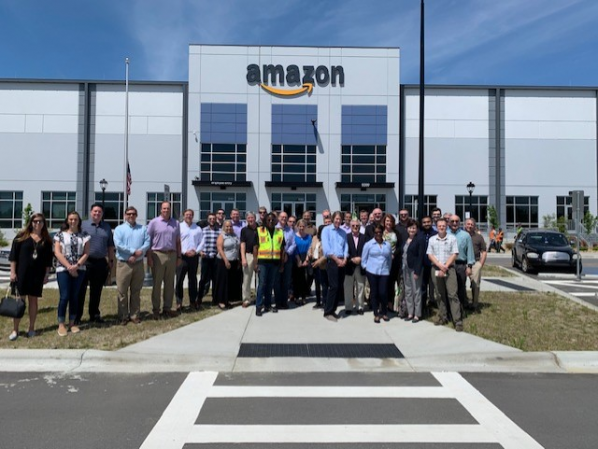 CSCMP Charlotte meeting and fundraising event at Amazon
