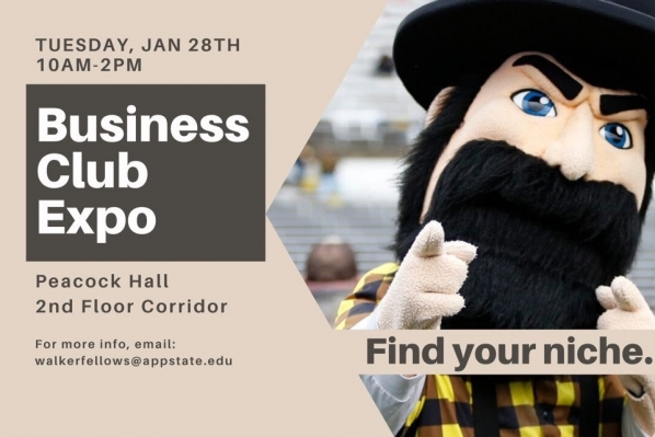 Jan. 28 Business Club Expo encourages students to find their niche