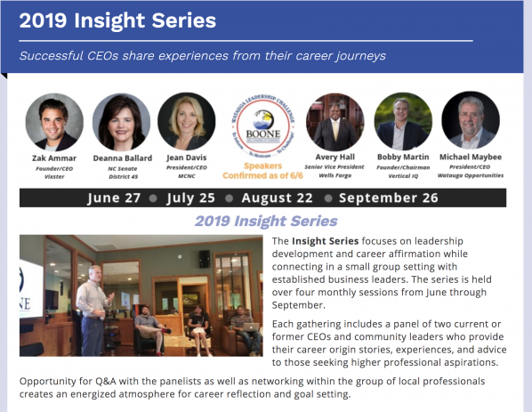 Appalachian partners to present as part of Boone Chamber Insight Series