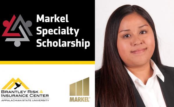 Salinas named first recipient of Markel Speciality Scholarship