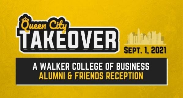 Queen City Takeover: Walker College Alumni & Friends Reception on September 1