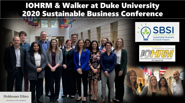 IOHRM students learn about sustainable business and social impact