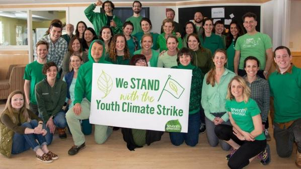 Seventh Generation is closing its office to encourage employees to join the global climate strike.
