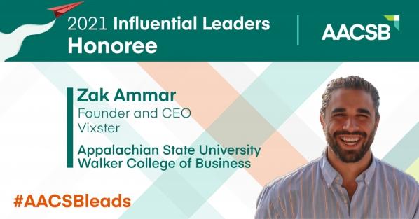 Alumnus, Vixster CEO named 2021 'Influential Leader'