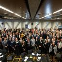 Walker College of Business scholarship recipients and donors during the 2018 reception at Appalachian State University