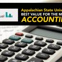 """Appalachian's undergraduate accounting program — """"Best for the Money"""" in 2019"""