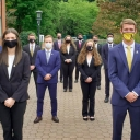Bowden Investment Group members on App State's Campus