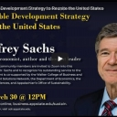Watch A Sustainable Development Strategy to Reunite the United States, a special lecture by Dr. Jeffrey Sachs