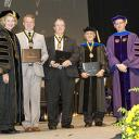 W. H. Plemmons Medallion recipients with Chancellor Everts