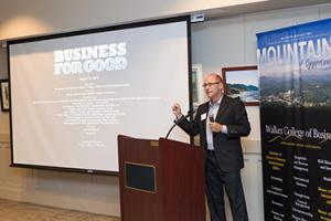 Business for Good event