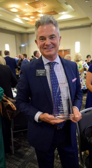 Alumnus, Business Advisory Council member receives NCACPA's highest honor