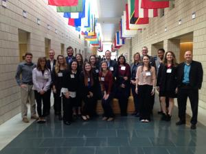 Students and faculty members from Appalachian State University recently attended Duke University's Sustainable Business and Social Impact (SBSI) Conference,