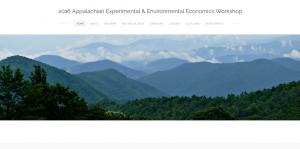 2016 Appalachian Experimental and Environmental Economics Workshop