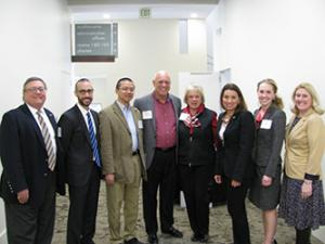 Faculty at Appalachian Research in Business Symposium
