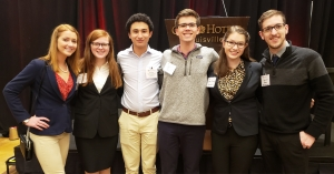 Appalachian accounting students and Beta Alpha Psi members travel to conference/competition.