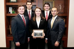 Finance team wins regional research challenge