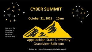 Registration is now open for inaugural cyber summit on App State's campus