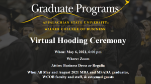 Hooding invitation