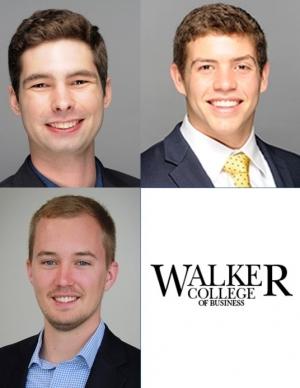 Scholarship Recipients: Top: Jason Hopkins, Christian Honaker Bottom: Kyle McMearty