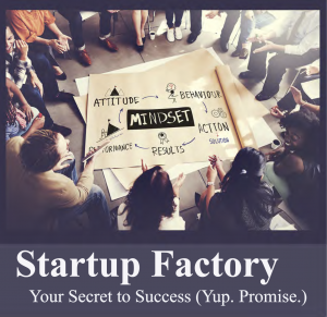 Startup Factory series offers competitive advantage, entrepreneurial mindset