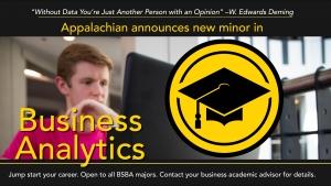 Walker College announces new minor in business analytics