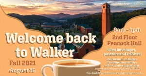 Welcome Back to Walker Reception
