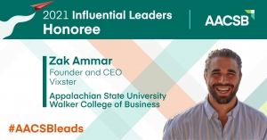 Alumnus, Vixster CEO named 2021 'Influential Leader'