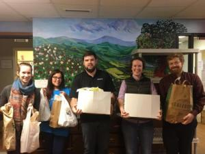 Senior marketing major Kaitlynn Broderick leads Boone Chamber volunteer effort