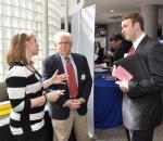 Students and employers network at Appalachian's RMI Career Fair