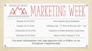 American Marketing Association to host Marketing Week