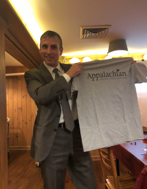 Robert Martichenko, CEO and founder of LeanCor Supply Chain Corporation, delivered comments to the AppState Supply Chain/APICS Foothills members.