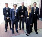 Four Appalachian State University faculty members and one staff member in the Walker College of Business have received the college's 2016 Sywassink Award for Excellence
