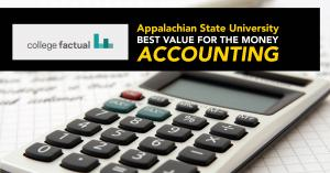 "Appalachian's undergraduate accounting program — ""Best for the Money"" in 2019"