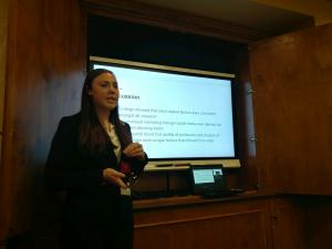 Walker College of Business honor student presents research at Atlantic Marketing Association Annual Conference