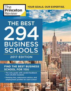 """Appalachian's Walker College of Business featured in Princeton Review's """"Best 294 Business Schools: 2017 Edition"""""""
