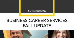 Business Career Services Fall Semester Update